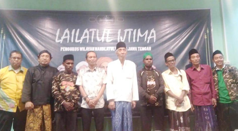Usai Ikut Diklatsar Banser di Rembang, Kader Ansor Papua Silaturahim ke NU Jateng