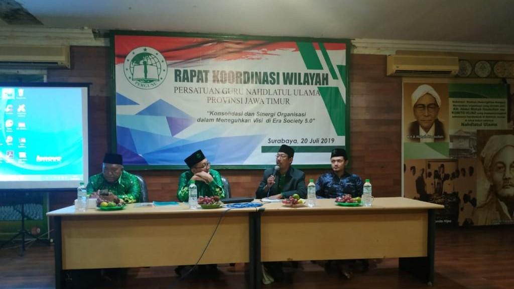 Pergunu Jatim Dukung Pendirian IPNU-IPPNU di Seluruh Sekolah