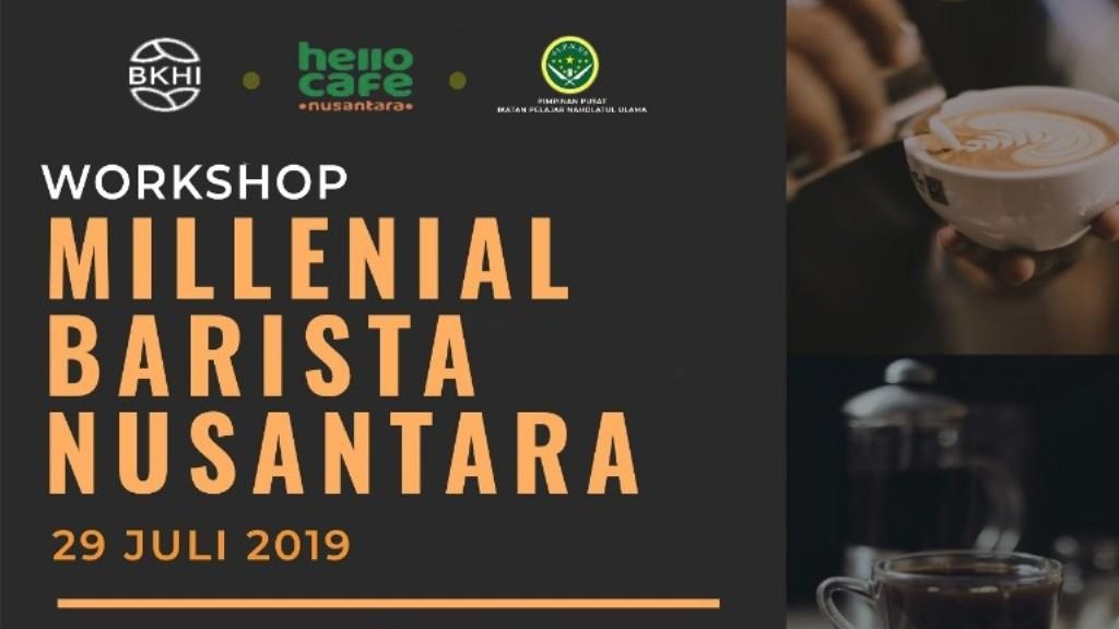 IPNU Gelar 'Millenial Barista Nusantara'
