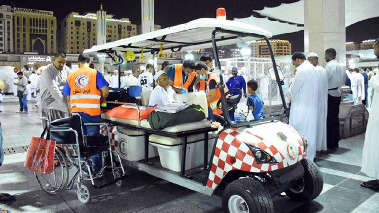 Palang Merah Saudi Sediakan Layanan Darurat Jamaah Haji di Madinah