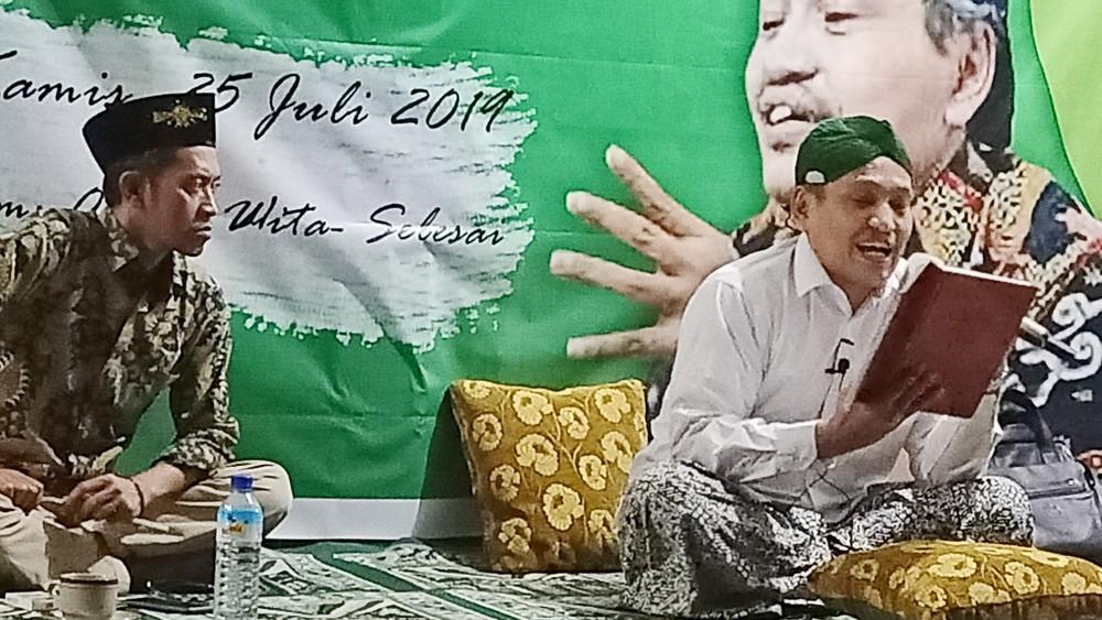UNU NTB Ngaji Ihyaulumuddin bareng Gus Ulil