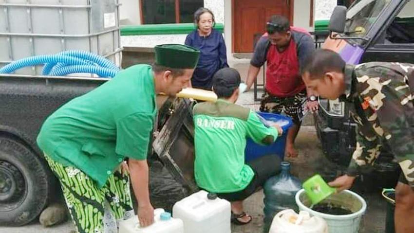 Warga Apresiasi Bantuan Air Bersih AnsorBoyolali