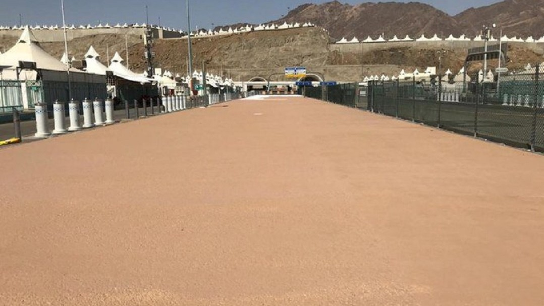 Agar Jamaah Haji Nyaman, Arab Saudi Kurangi Panas di Jalur Pejalan Kaki