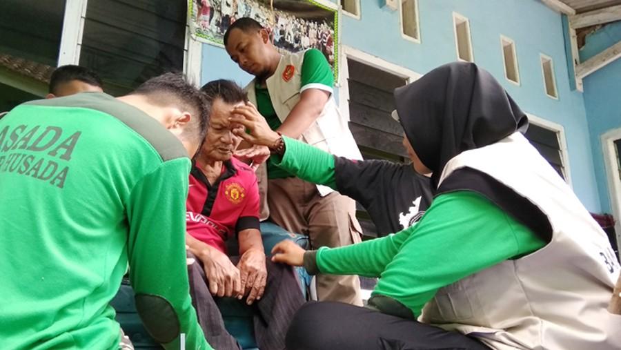 Banser Husada Lampung Ajak Masyarakat Sedekah Sampah