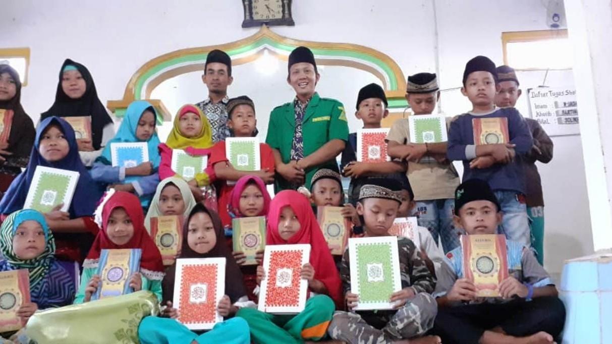 Ansor di Lampung Gelar Bakti Sosial dan Salurkan Al-Qur'an