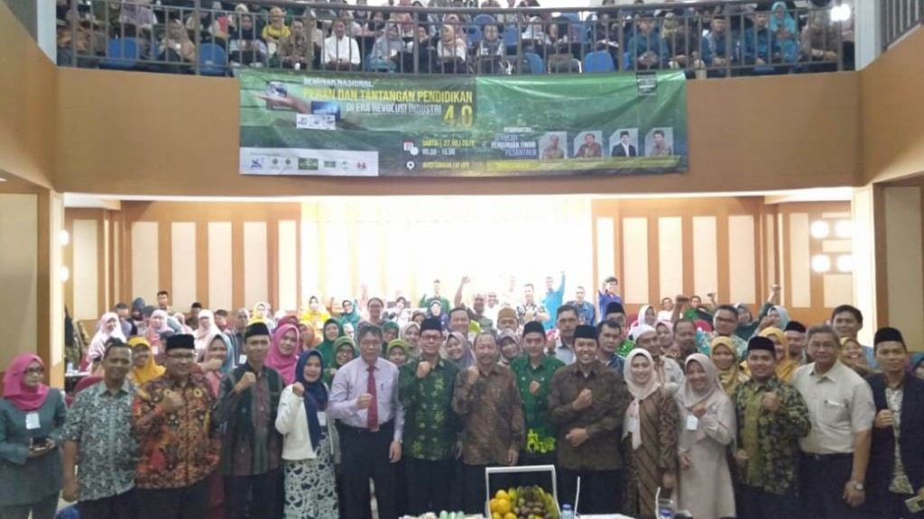 Dilantik, Berikut Komitmen LPTNU Kota Bandung