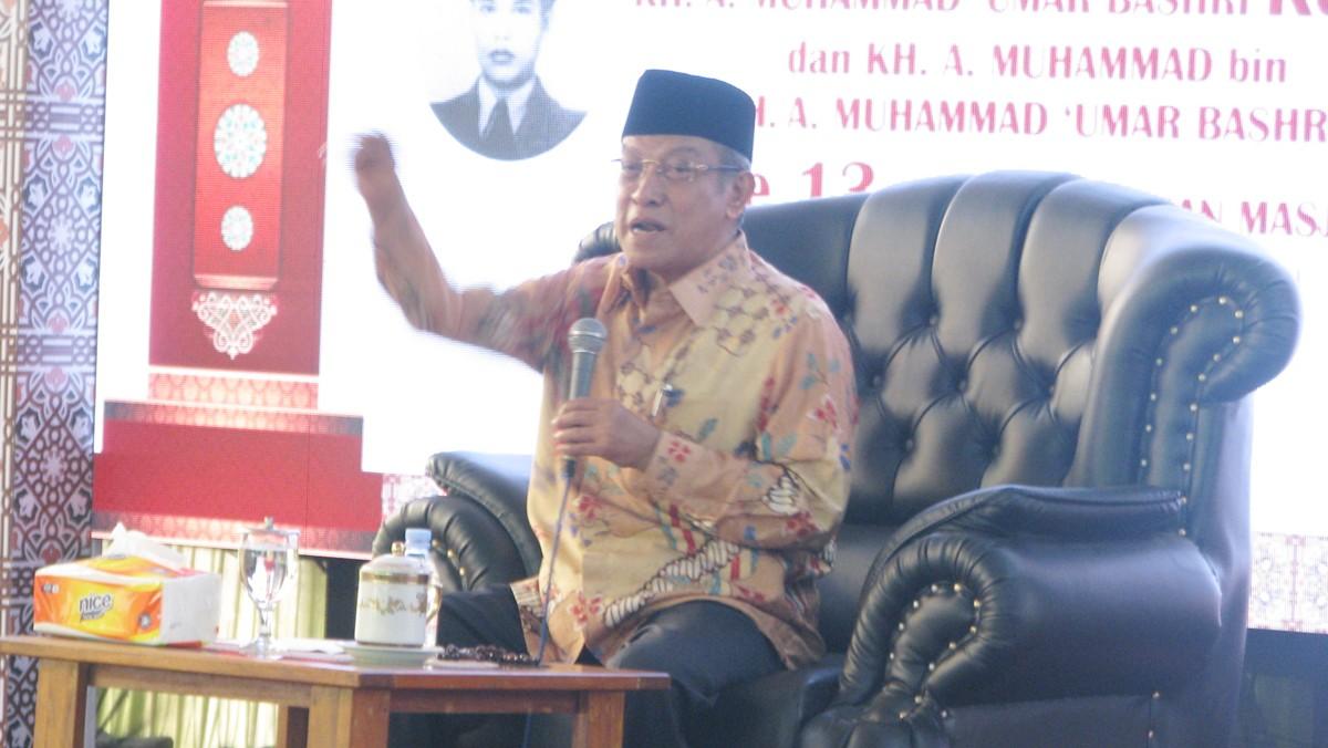Kiai Said: Agama Harus Dikelola untuk Kemajuan Umat