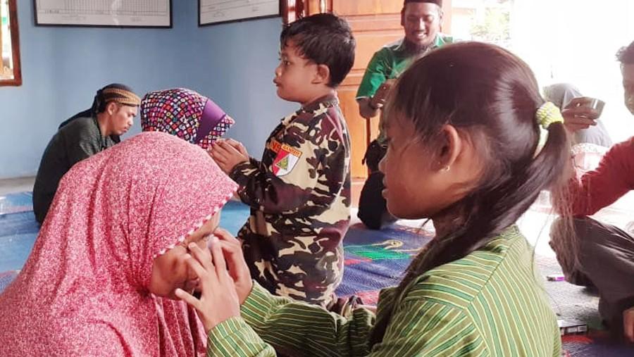 Ansor Lampung Syiar Kebangsaan dengan Sampah dan ATS