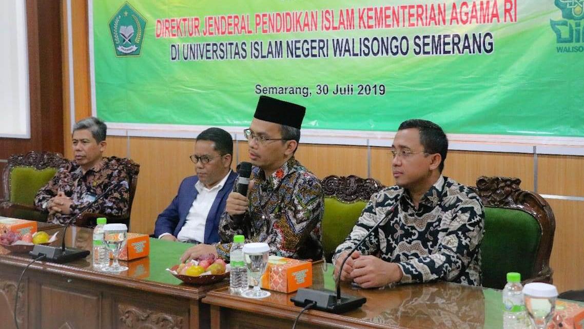 Kemenag Gelontorkan 1 Triliun ke UIN Semarang
