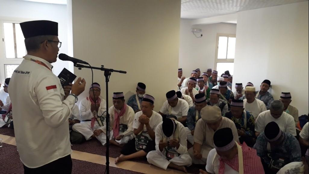 PPIH Daker Makkah Lakukan Pembinaan Jemaah Calon Haji Pringsewu