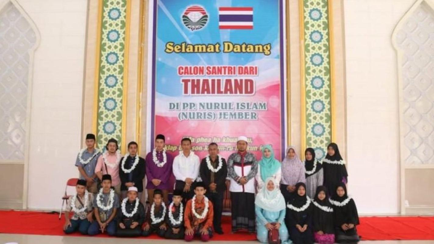 Lagi, 13 Pelajar Thailand Nyantri di Nuris Jember