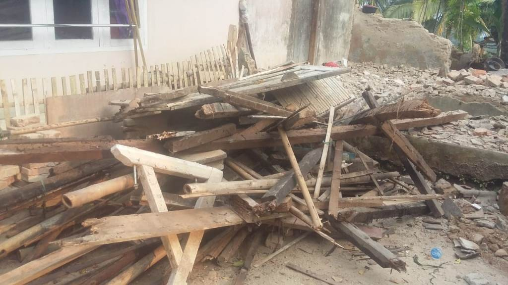 Bantu Warga Terdampak Gempa, LAZISNU Banten Terjunkan Tim Lapangan