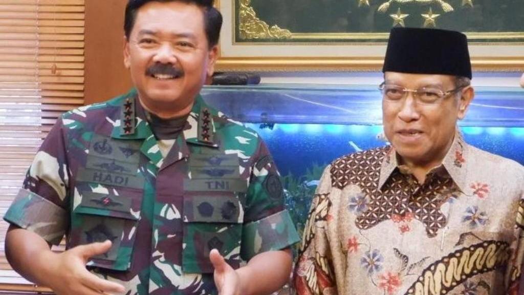 Panglima TNI Tegaskan Kekuatan NU sebagai 'Civil Society'