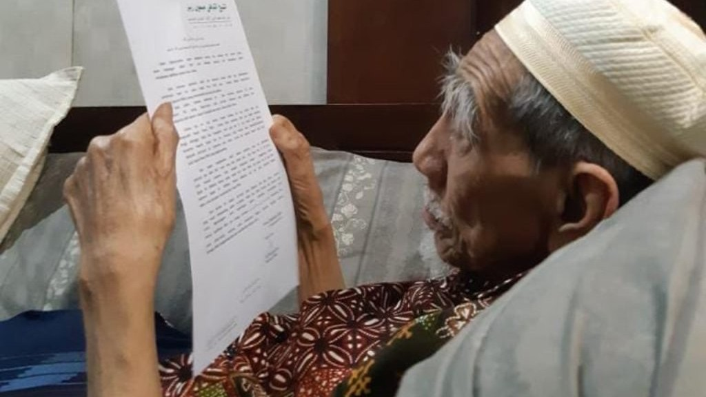 Mustasyar PBNU KH Maimoen Zubair Wafat di Makkah