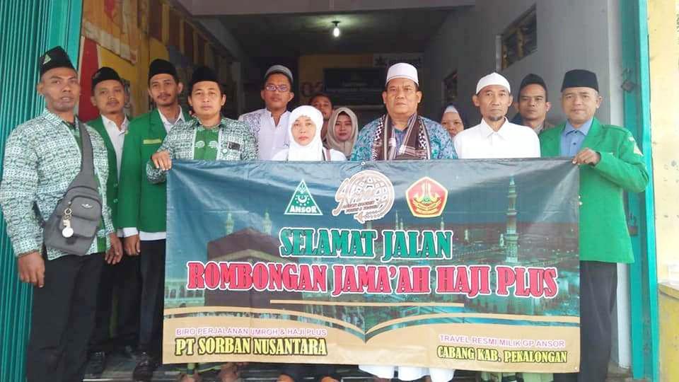 Sorban Pekalongan Berangkatkan Calon Jamaah Haji Plus