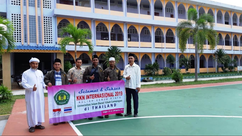 KKN Unisda Membawa Pesan Islam Nusantara di Thailand