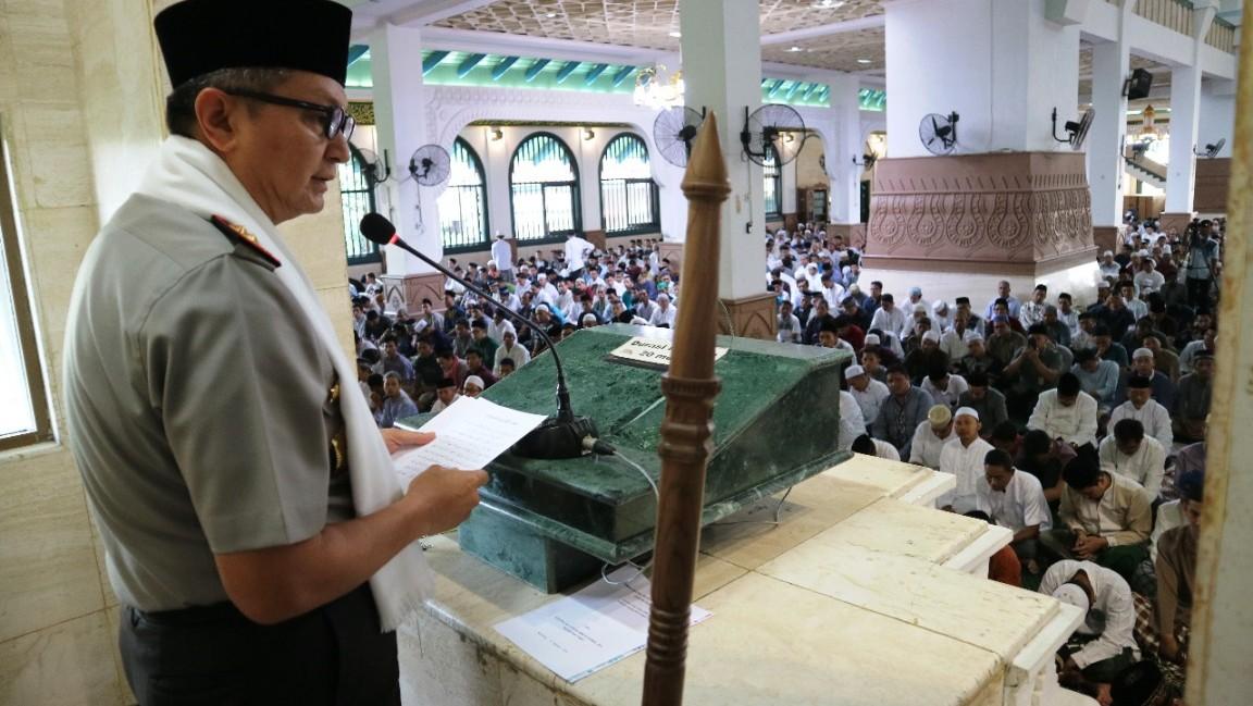 Kapolda Beri Perhatian Keberadaan Karaoke Liar di Sekitar Masjid Agung Jateng