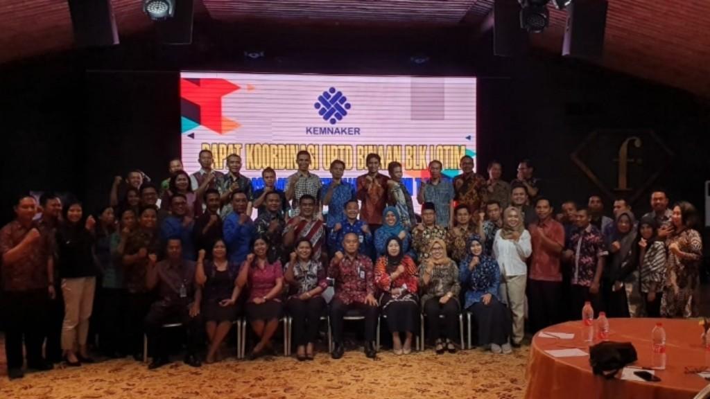 BLK Lotim Gelar Rakor UPTD Binaan di Denpasar