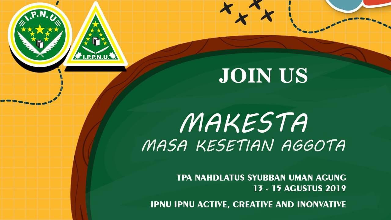 Gelar Kaderisasi, Pelajar NU Lampung Usung Semangat Aktif, Kreatif, dan  Inovatif