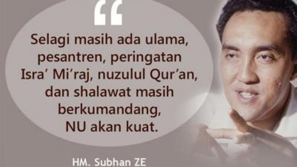 Tragedi Haji Ketujuh Subchan ZE