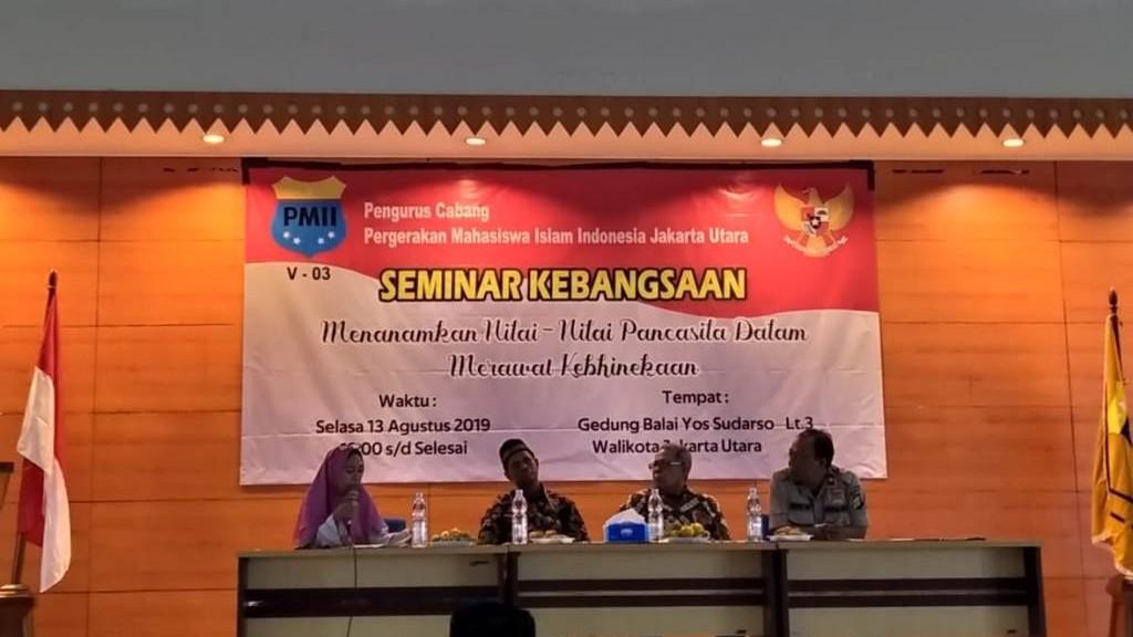 PMII Jakarta Utara Kupas Sejarah Pancasila