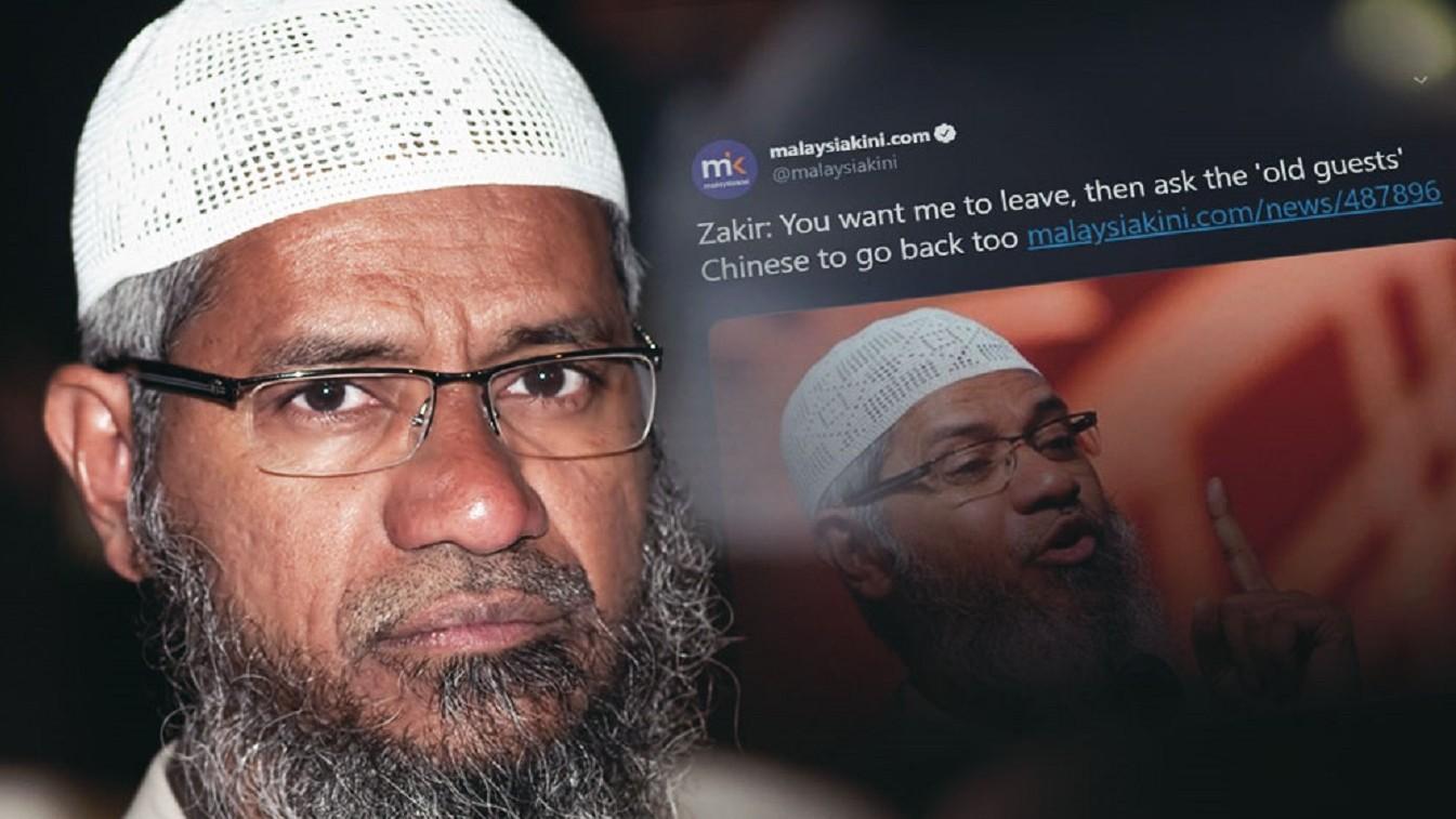 Sejumlah Elite Malaysia Minta Zakir Naik Dideportasi