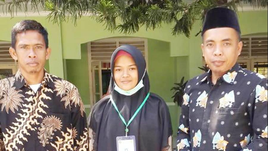 Santri NU dari Pelosok Desa Juarai Mapel Kimia di KSM Tingkat NTB