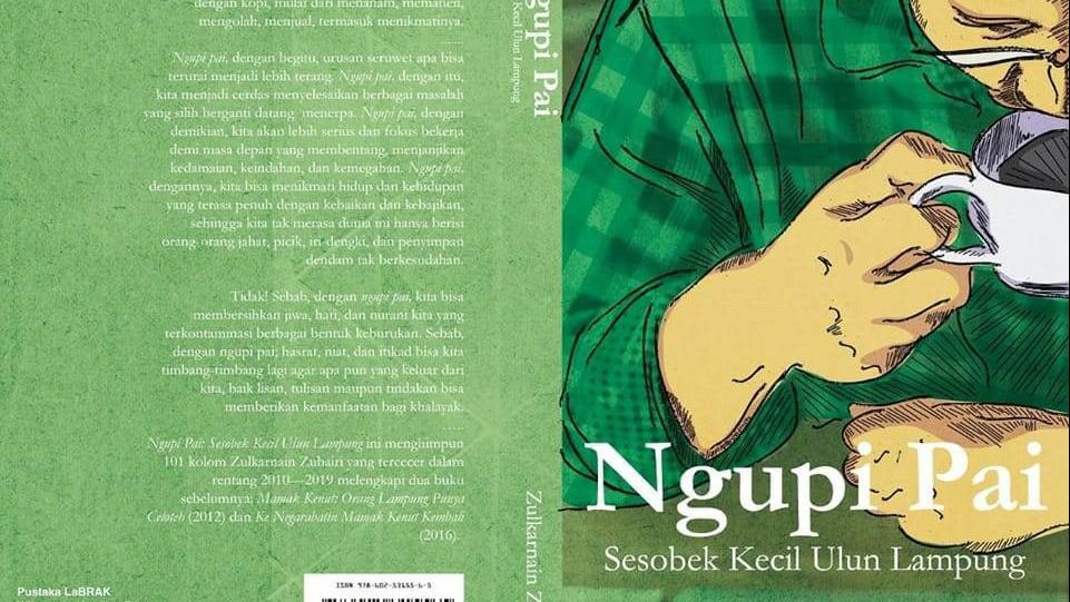Angkat Tema Kopi, Mantan Aktivis PMII Lampung Kembali Terbitkan Buku