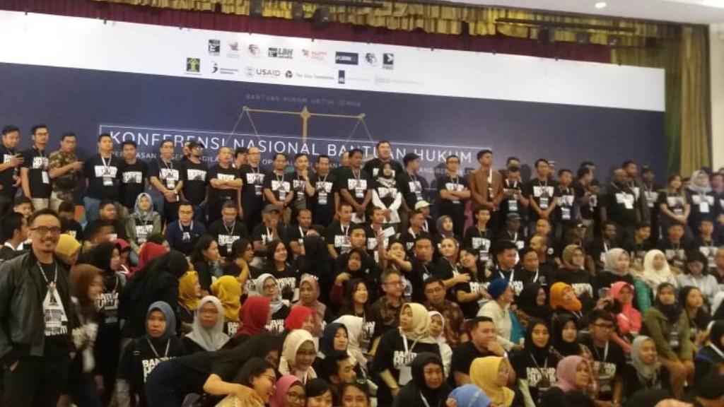 Di Konferensi Nasional Bantuan Hukum, LBH Ansor Dorong Tiga Hal