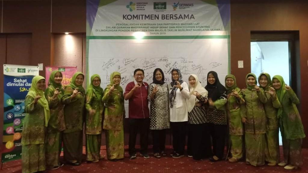 Muslimat NU Terus Perkuat Peran Masyarakat soal Germas dan Pencegahan Stunting