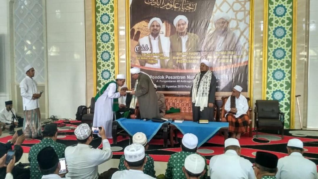 Habib Hasan: Membenahi Akhlak Umat Harus Didahului Diri Sendiri