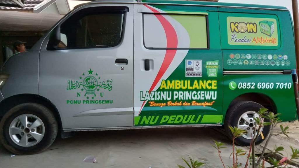 Dari Uang Koin, LAZISNU Pringsewu Beli Mobil Ambulans