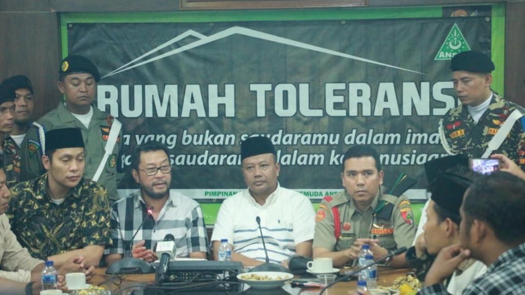Yorrys Raweyai Klarifikasi Tuntutan Bubarkan Banser kepada Kasatkornas H Alfa Isnaeni
