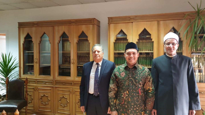 Silaturahmi dengan Pimpinan Al-Azhar, PBNU Tingkatkan Kerja Sama