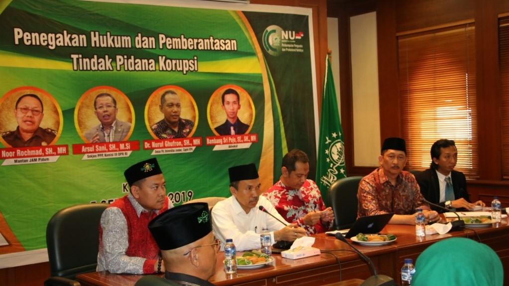 Perkumpulan Pengusaha dan Profesional Nahdliyin Bahas Pemberantasan Korupsi