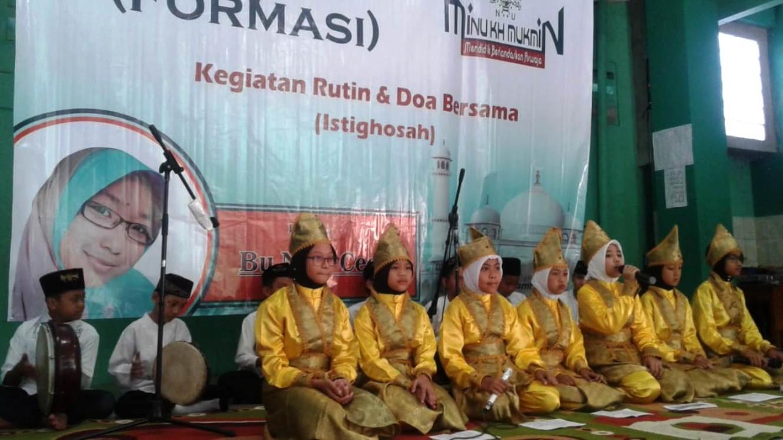 Lewat Formasi, Madrasah NU Ini Tingkatkan Silaturahim