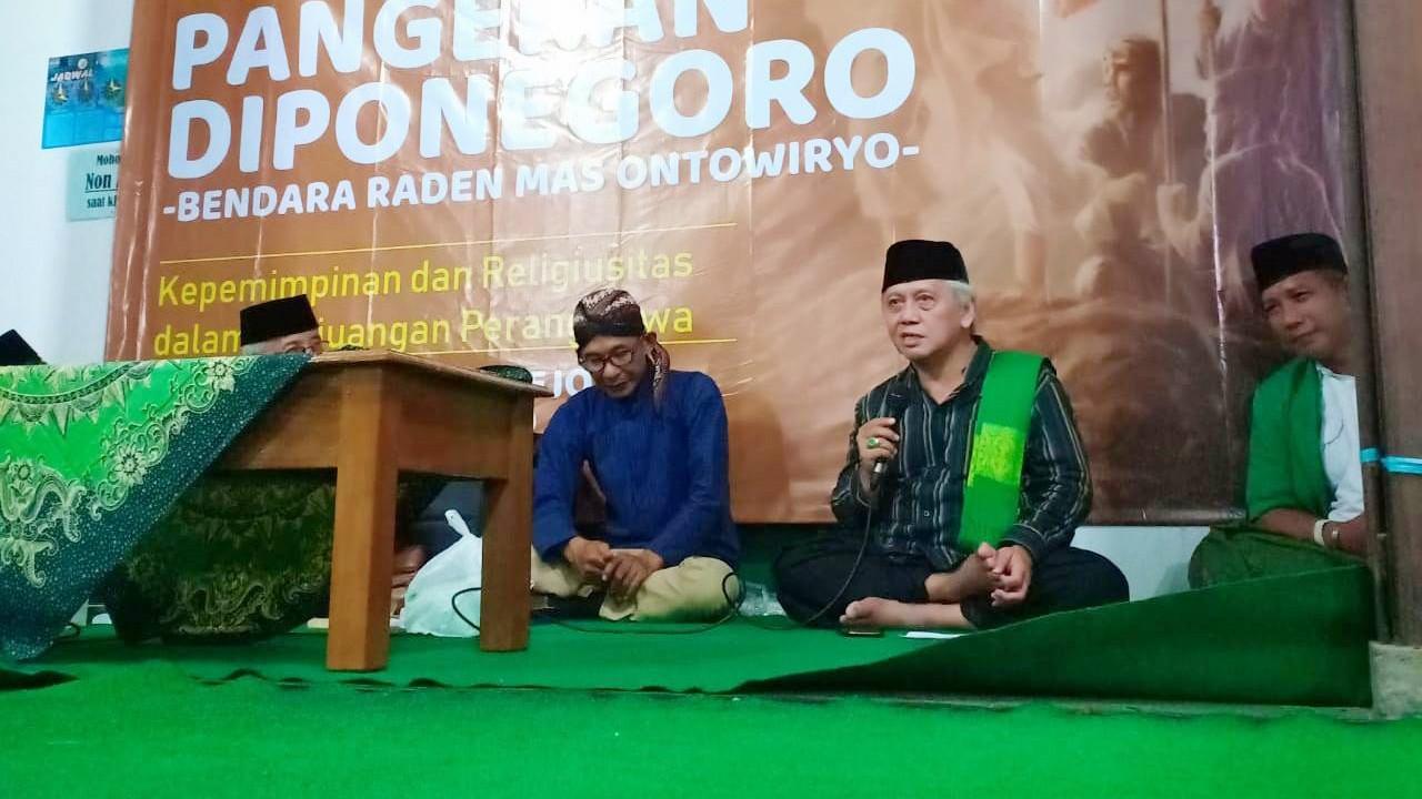 Wakil Rais NU Jateng: Pangeran Diponegoro  Santri dan Pengamal Tarekat