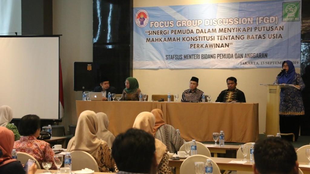 Fatayat NU Sikapi Putusan MK tentang Batas Usia Perkawinan