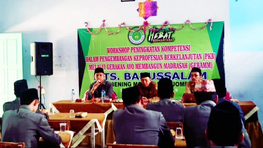 MTs Babussalam Jombang Gencarkan Gerakan Bangun Madrasah
