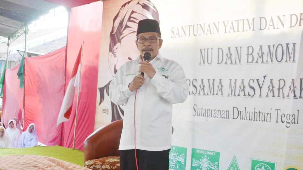 Ketua NU Tegal Ingatkan Pentingnya Jaga Akidah Aswaja Annahdiyah