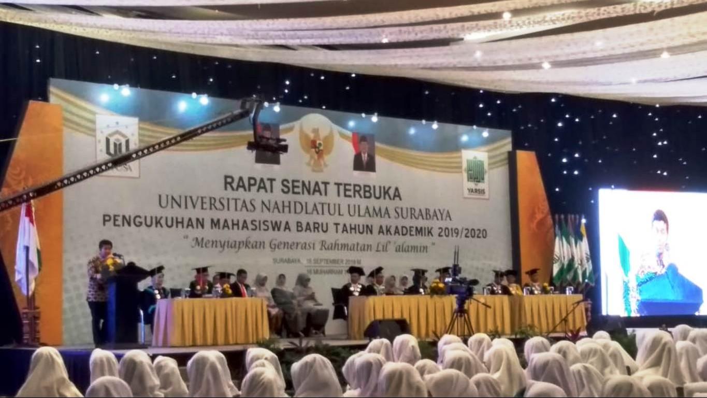 Wagub Jatim Ajak Mahasiswa Unusa Bangun Jiwa Kreatif dan Inovatif
