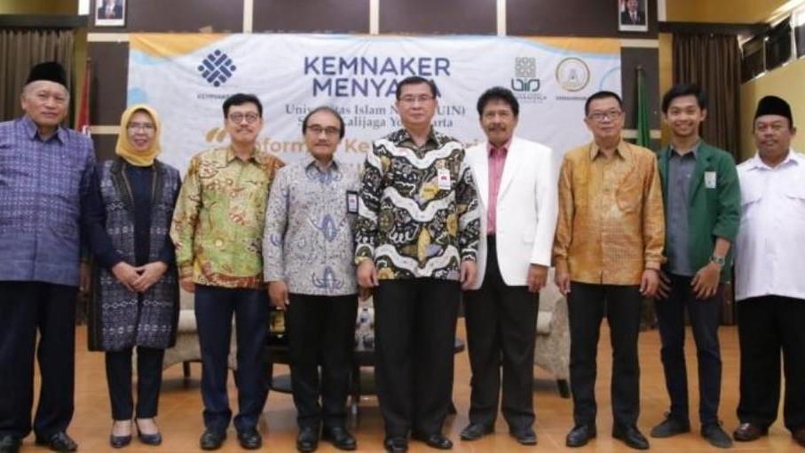 'Kemnaker Menyapa' di UIN Sunan Kalijaga Yogyakarta
