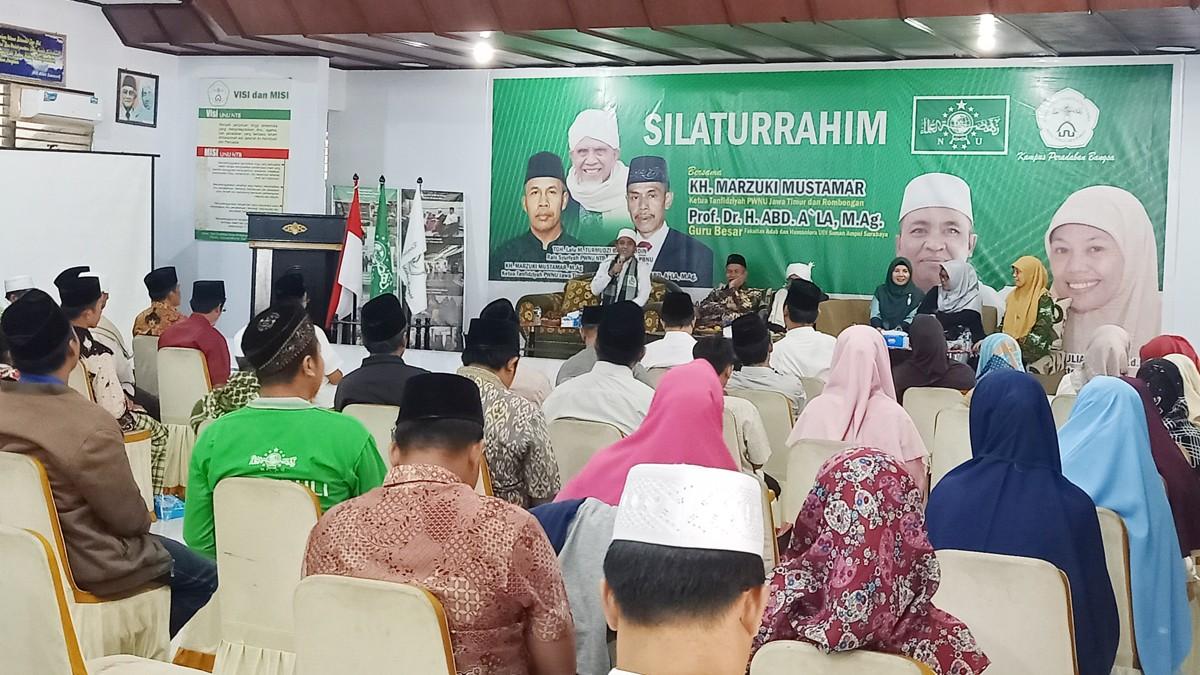 Resmikan Masjid, Ketua NU Jatim Minta Nahdliyin NTB Majukan NU