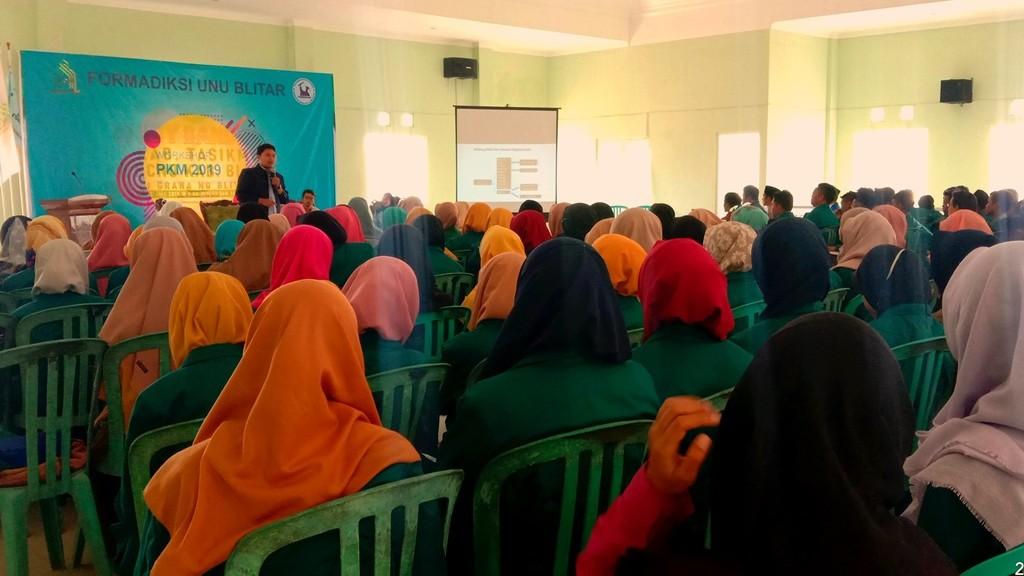 Formadiksi UNU Blitar Gelar Workshop Kreativitas Mahasiswa