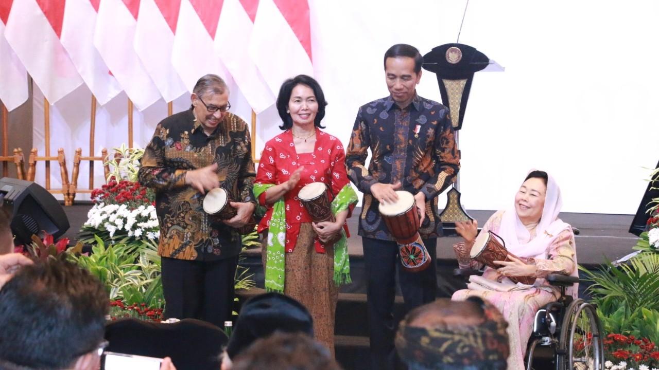 Presiden Jokowi Resmi Buka Forum Titik Temu