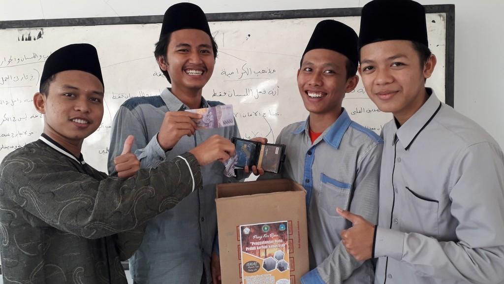 Santri Tebuireng Galang Dana Sosial untuk Korban Kebakaran di Sumatera