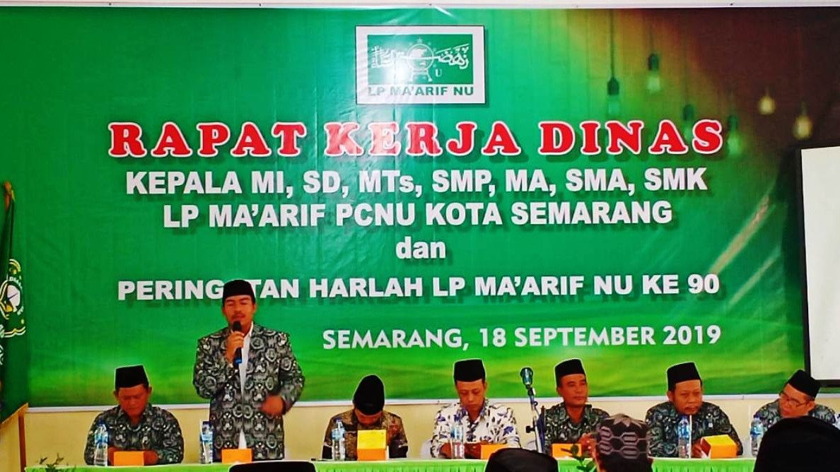 Ma'arif NU Kota Semarang Gagas Standar Nasional Pendidikan