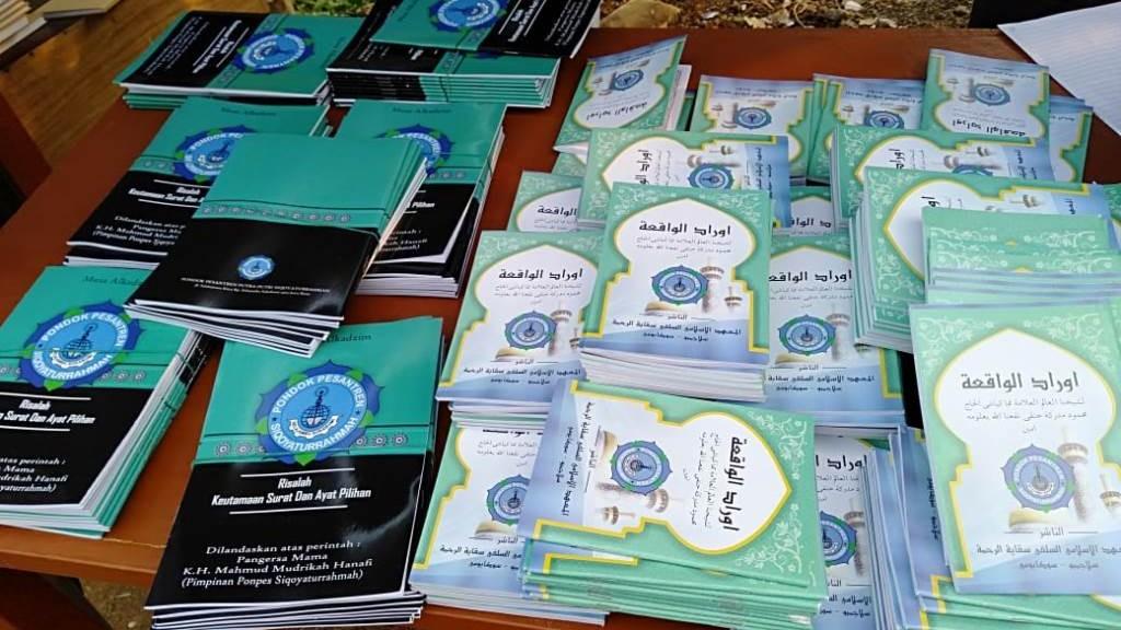 Pameran Kitab Ajengan Sunda di Muskercab NU Sukabumi