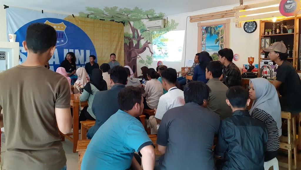 Diskusi 'Memeluk Erat Papua' PMII UNJ Kuatkan Kebersamaan dengan Warga Papua