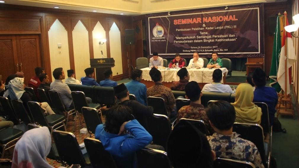 PMII Jakarta Gelar Pembukaan PKL dan Seminar Nasional
